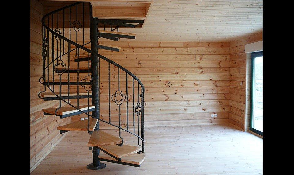 Widok w środku budynku (zdjęcie) wykonawca EFIN www.domyefin.pl