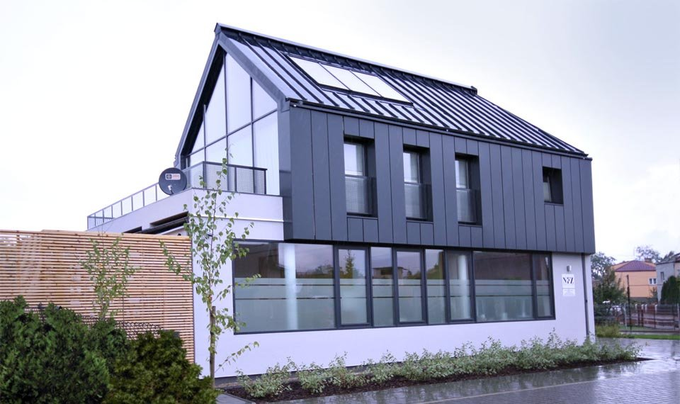 Projekt budynku przychodni widok 1 (zdjęcie)