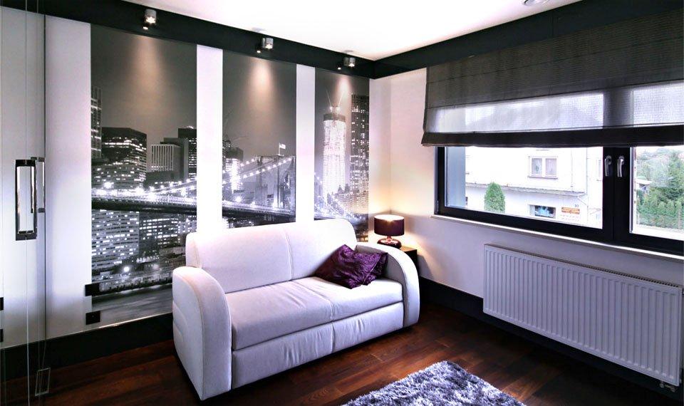 Projekt wnętrza - pokój gościnny widok 2 (zdjęcie)