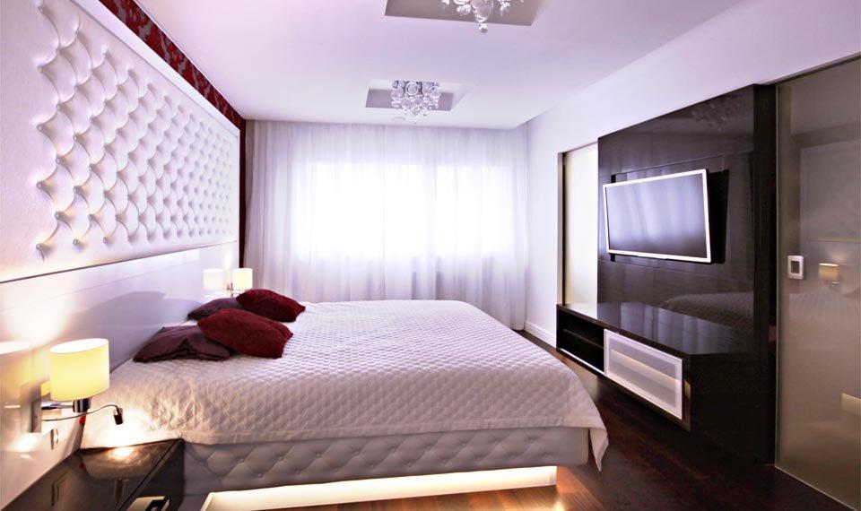 Projekt wnętrza - sypialnia widok 3 (zdjęcie)