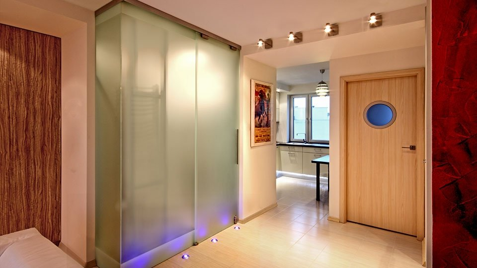 Projekt wnętrza - korytarz (zdjęcie)