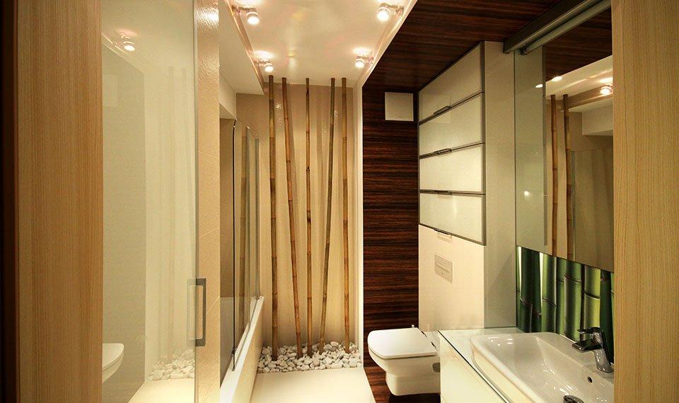 Projekt wnętrza łazienki (zdjęcie)