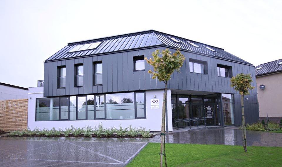 Projekt budynku przychodni widok 2 (zdjęcie)
