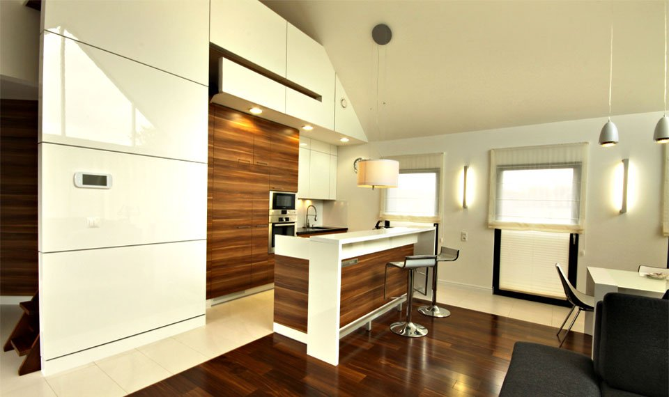 Projekt wnętrza - kuchnia (zdjęcie)