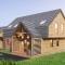 Wizualizacja 3d domu z drewna 170m2 pod Warszawą